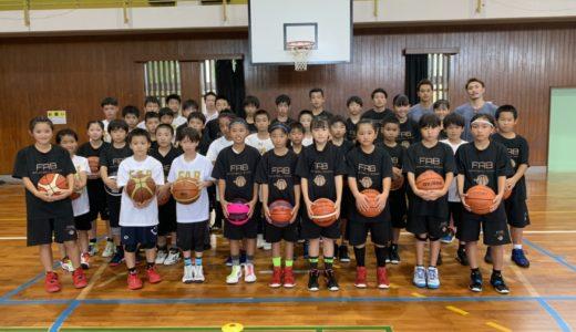FABバスケットボールスクール様 合宿サポート